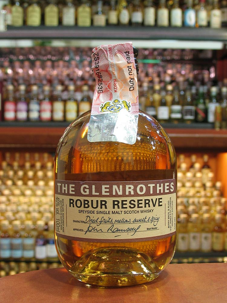 Glenrothes-ROBUR-CGF181-Korea-100ml-Front-OB